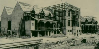 400X200 construction of Bath House Building