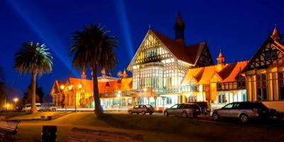 400x200 Rotorua Museum by night functions